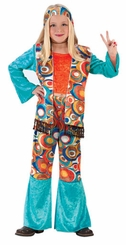 Girls Halloween Costumes - Hippie Costume