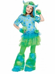 GIRLS Monster Costume - Monster Miss!