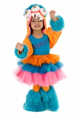 Girls Monster Costume - SNARLY !