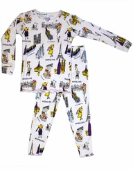Girls Pajamas  Madeline Print - Out of Stock