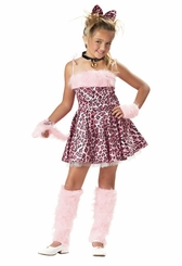 Girls PInk Kitty Costume - PURRFECT!