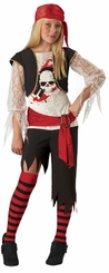 Girls Pirate Costume - Deluxe Sassy Pirate Costume