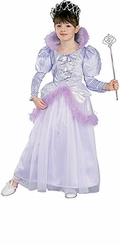 Girls Princess Costume and Tiara - Lavender  8-10  ONE LEFT
