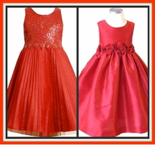 Girls Red Dresses