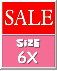 GIRLS SIZE 6X - BARGAINS