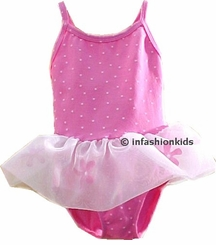 Girls Swimwear ~ Pom Posie Ruffle Swimsuit