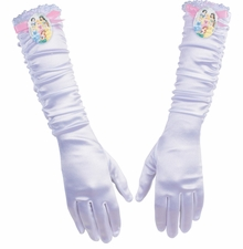 Girls White Princess Gloves - Disney  - SOLD OUT