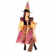Girls Witch Costume - Elegant Witch