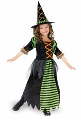Girls Witch Costume - Miss Witch