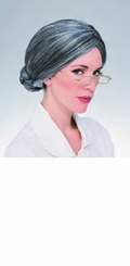 Grey Haired Old Lady Wig - sold out