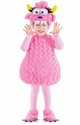 Halloween Costume: Pink Monster Belly Costume - OUT OF STOCK