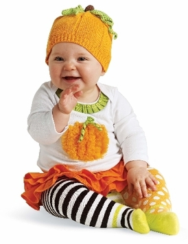 Halloween Pumpkin Outfit Baby or Toddler
