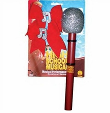 High School Musical Performance Mike and Bows Set