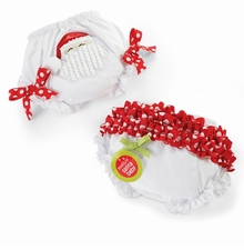 Holiday Santa Bloomers 12-18 months