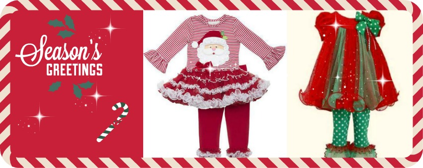 Girls Christmas Dresses Boys Holiday Clothes