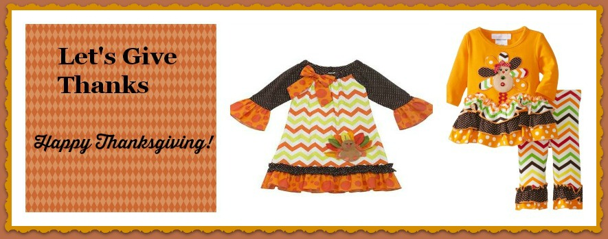 In Fashion Kids Thanksgiving Clothes for Girls and Boys