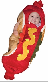 Hot Dog Bunting Costume