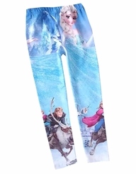 IFK Little Girls Ice PrincessGirls Legging