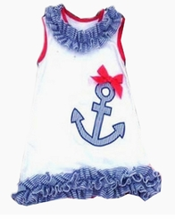 In Fashion Kids Baby Girls Anchor Dress