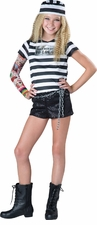 Incharacter Tween Girl's Convict Cutie Costume