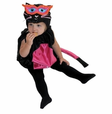 Infant Kitty Cat Costume -  Satin