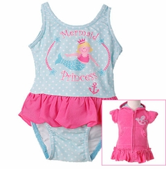 Infant Princess Swimsuit & Robe Set  - SOLD OUT