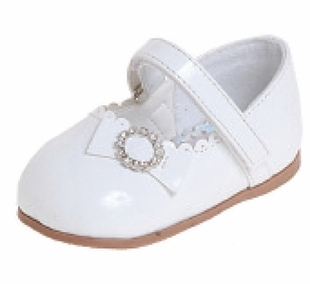 Infant / Toddler  White Patent Dress Shoes - sold out