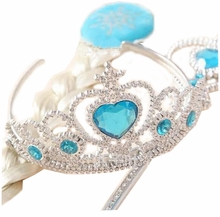 Inspired Elsa Tiara, Wand and Hairpiece 3 Pc Set - sold out