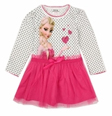 Inspired Pink Heart Inspired Elsa Tutu Dress