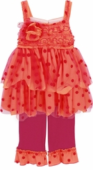 Isobella and Chloe Baby Girls Sunrise Sunset Pant Set