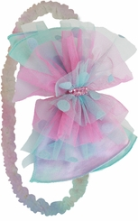 Isobella and Chloe Girls Stretch Headband : Just Groovy
