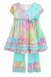 Isobella and Chloe Just Groovy Infant or Toddler Pant Set