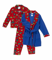 Kids Bunz Big Boys POW Pajama and Robe Set - sold out