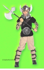 Kids Halloween Costumes - Barbarian Costume - FINAL SALE