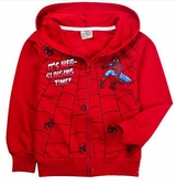 Kids Spiderman Hooded Sweatshirt