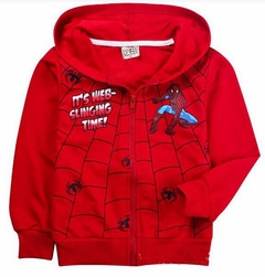 Kids Spiderman Hooded Sweatshirt spsw