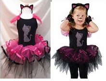 Kitty Cat Costume - Crystal Cat Pettiskirt Dress and Cat Headband sold out