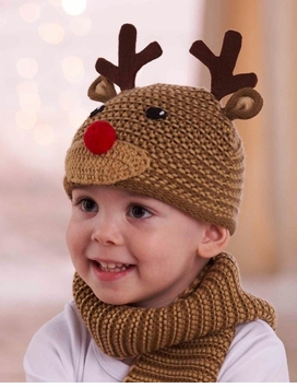 Knit Reindeer Hat -  SOLD OUT