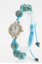 Ladies Watch Sparkle Ball -  TURQUOISE