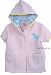 Le Top - At The Shore Childrens Robe  sz 4T  FINAL SALE