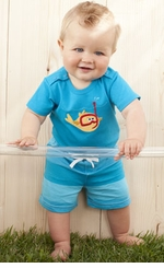 Le Top Boys Little Ray Scuba Diver Shorts and Bodysuit