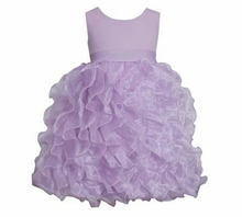 Lilac Chiffon Special Occasion Dress
