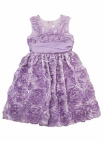 Lilac Soutach Special Occasion Dress - sold out