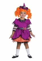 Little Girls Costume : Lalaloopsy Deluxe Candy Broomsticks Costume