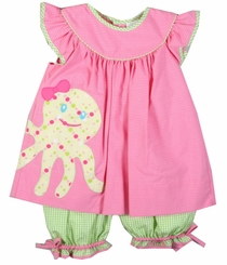 Little Girls Octopus Pant Set Toddler