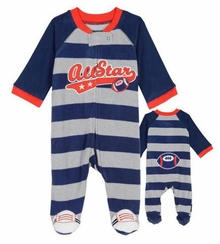Little Me Baby Boys All Star Blanket Sleeper