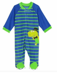 Little Me Baby-Boys Dino Blanket Sleeper