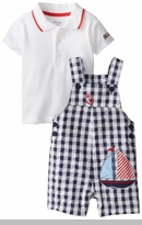 Little Me Baby-Boys Infant Anchor Shortall Set