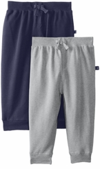 Little Me Baby-Boys Infant Heather Grey Medieval 2 Pack Pants