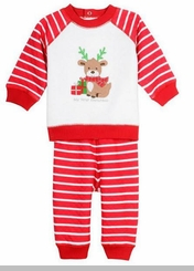 Little Me Baby Boys My 1st Christmas Reindeer Set